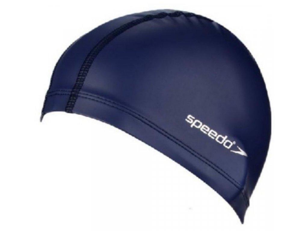 Plavecká čepice Speedo PACE CAP navy (polyuretan polyester)