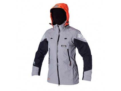 Jachtařská bunda Magic Marine Melbourne Short Jacket 2L dámská, šedá