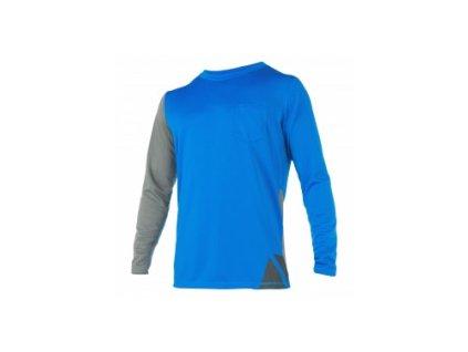 Rychleschnoucí triko s dlouhým rukávem Magic Marine Cube Quick Dry L S modré