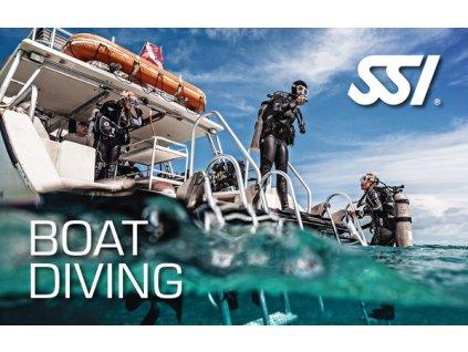 Kurz potápění z lodě SSI Boat Diving