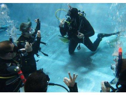 Zkušební potápěčský ponor