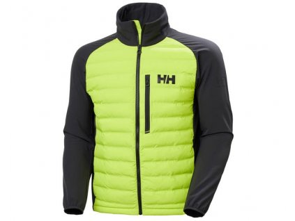 Pánská soft shell bunda HH HP INSULATOR AZID LIME