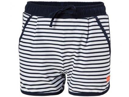 Dětské námořní šortky HH JR THALIA SHORTS NAVY STRIPE