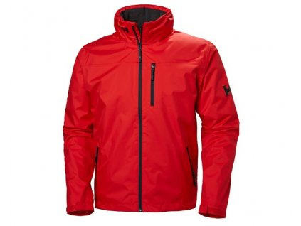 Pánská bunda HH CREW HOODED MIDLAYER JACKET RED ALERT
