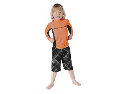 Funkční triko s dlouhým rukávem Magic Marine Cube Rash Vest L S Kids dětské, oranžové