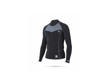 Neoprenové triko Magic Marine Merino Wool Vest 1,5mm černý