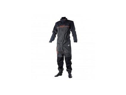 Suchý oblek Magic Marine Regatta Drysuit with Socks (frontzip) dětský, modrý