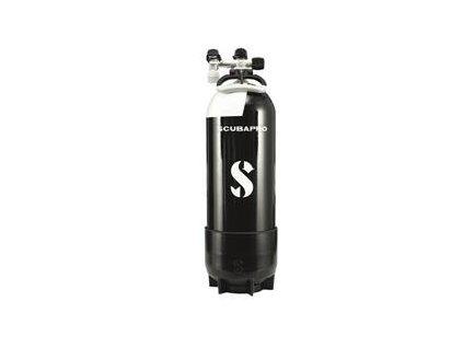 Lahev Scubapro 15L s monoventilem a botkou