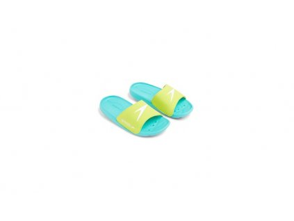 Pantofle Speedo ATAMI CORE SLIDE modrá zelená dětské