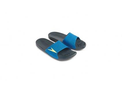 Pantofle Speedo ATAMI II MAX černá modrá
