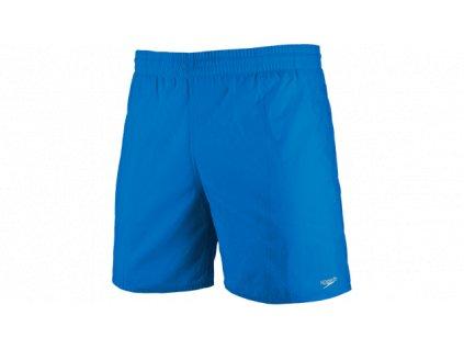 Plavky Speedo SOLID LEIS 15 WSHT JM BLUE pánské šortky