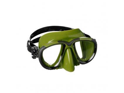 Maska Mares TANA freedive, zelená