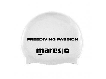 Plavecká čepice Mares APNEA CAP bílá, v. UNI