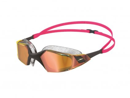 Plavecké brýle Speedo AQUAPLS PRO MIR GOG REDGLD