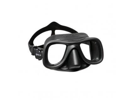 Maska Mares SAMURAI X freedive, černá, černá