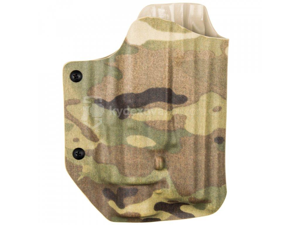 Taktické/služební kydexové pouzdro na CZ 75 SP-01 Phantom + Insight M6X - MOLLE - bez pojistky - multicam