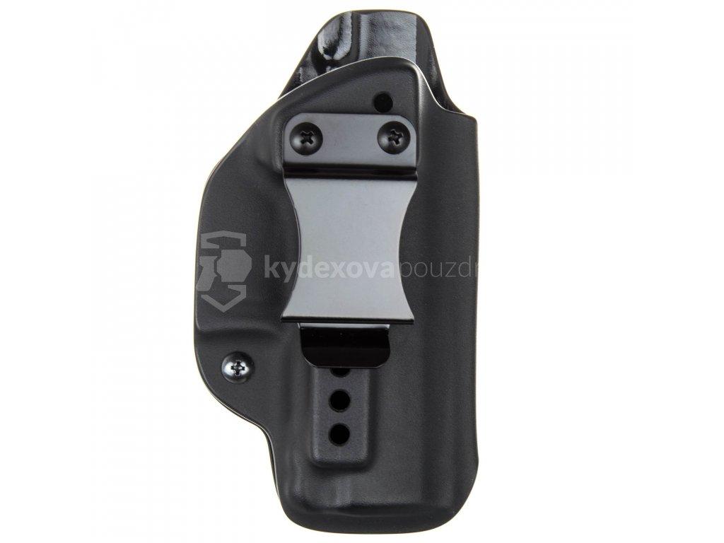 IWB - Walther PPQ M1/M2 - vnitřní kydexové pouzdro - poloviční sweatguard - ns - černá