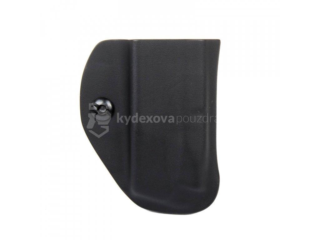 IWB - CZ P-10 C/F/S/SC - CZ P-07/09 - vnitřní kydexové pouzdro na 1 zásobník - bez sweatguardu - černá