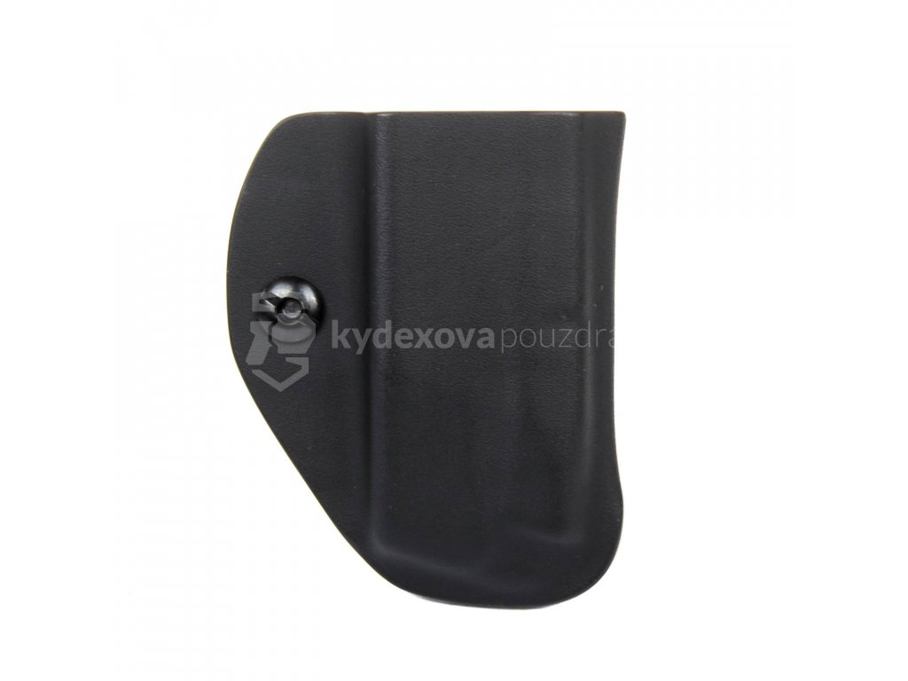 IWB - vnitřní kydexové pouzdro na 1 zásobník CZ P-10 C - bez sweatguardu - černá