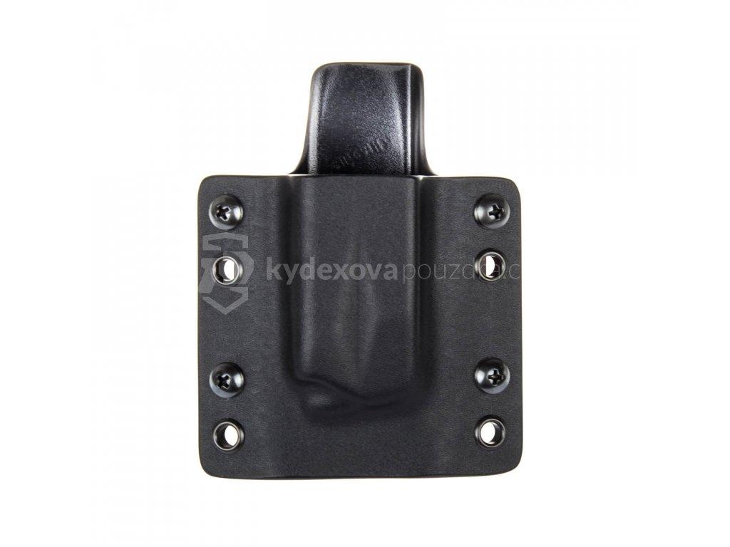 OWB - SIG Sauer P226 - vnější kydexové pouzdro na 1 zásobník - plný sweatguard - černá/černá