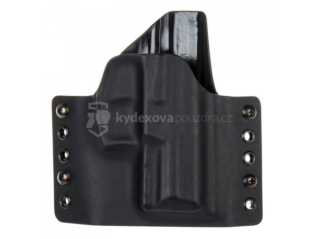 OWB - Heckler & Koch SFP9 SK - vnější kydexové pouzdro - poloviční sweatguard - černá/černá