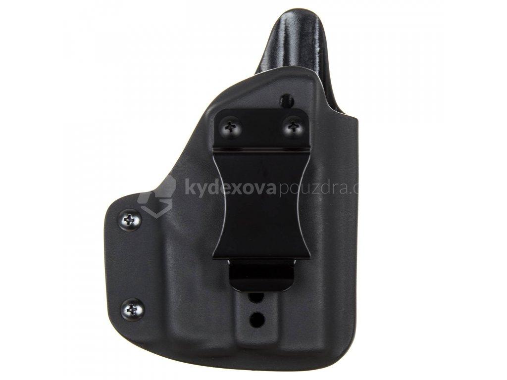IWB - Glock 42 + Streamlight TLR-6 - vnitřní kydexové pouzdro - plný sweatguard - ns - černá
