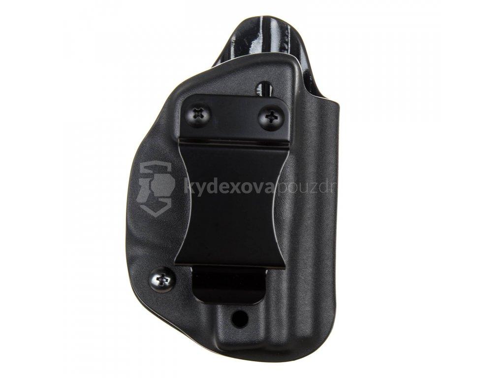 IWB - Smith & Wesson M&P Bodyguard - vnitřní kydexové pouzdro - plný sweatguard - ns - černá