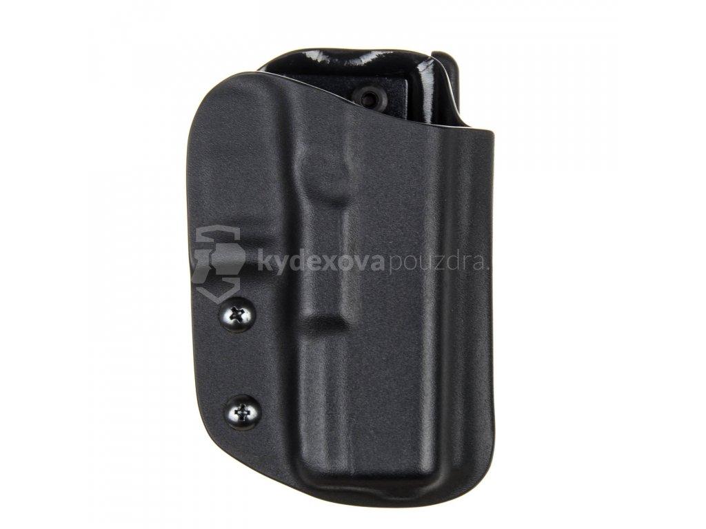 IPSC - Glock 19/23/32 - Glock 19X/45 - sportovní kydexové pouzdro - černá