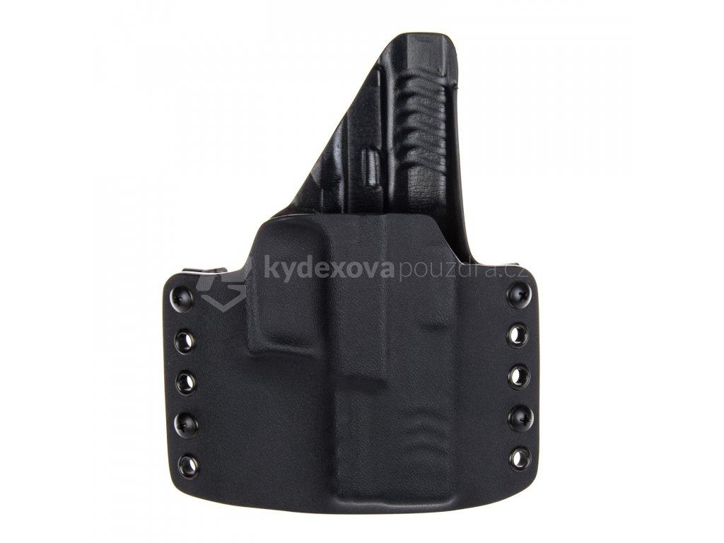 """Kydexové pouzdro na zbraň Springfield XDM 3.8"""" se sweatguardem - vnější, černá"""