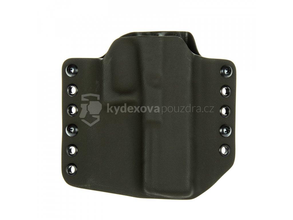 OWB - Glock 17/22/31 - vnější kydexové pouzdro - bez sweatguardu - olivová/olivová