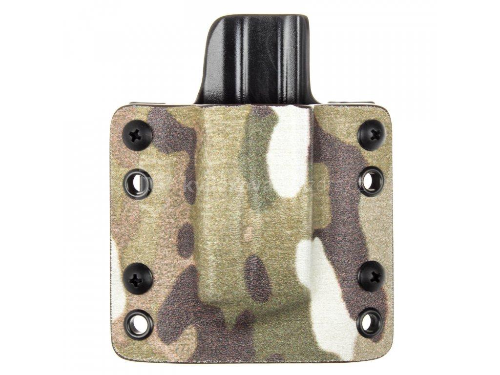 OWB - CZ P-10 C/F/S/SC - CZ P-07/09 - vnější kydexové pouzdro na 1 zásobník - plný sweatguard - multicam/černá