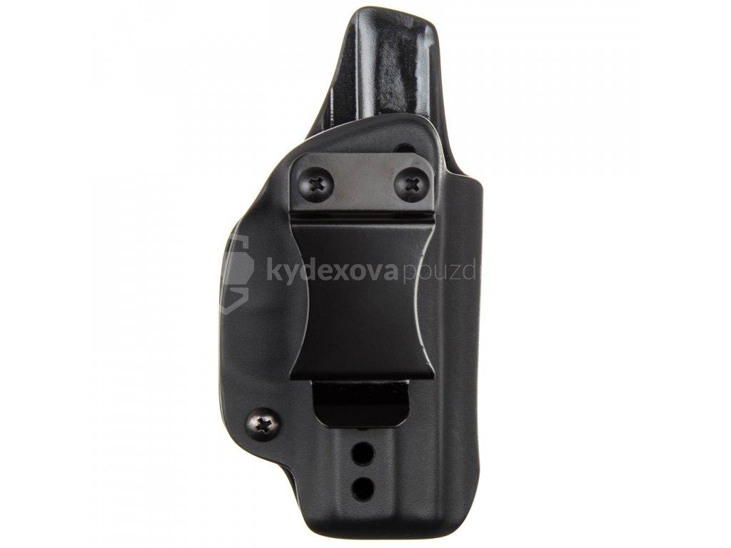 IWB - SIG Sauer P365 - vnitřní kydexové pouzdro - plný sweatguard - ns - černá