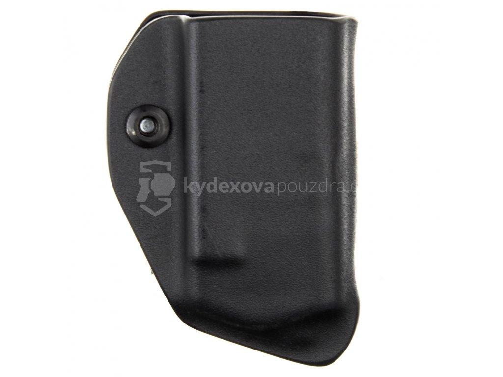 IWB - Glock 43X/48 - vnitřní kydexové pouzdro na 1 zásobník - bez sweatguardu - černá