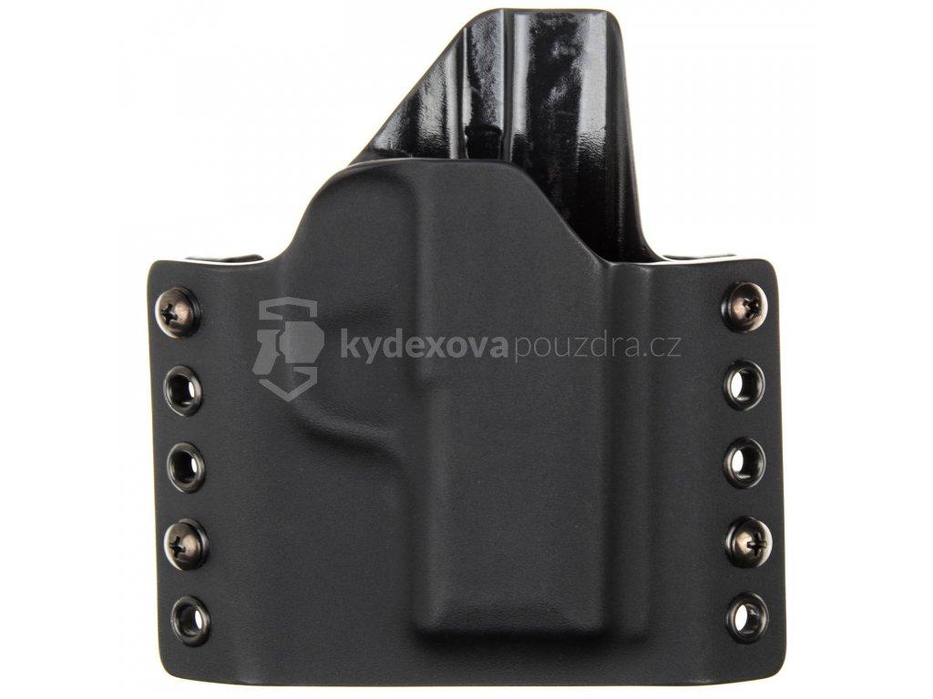 OWB - SIG Sauer P365 - vnější kydexové pouzdro - poloviční sweatguard - černá/černá