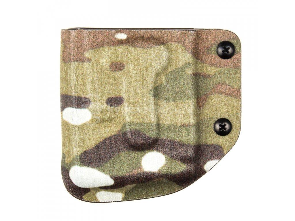 SPORT/TAC - AR-15/M4 - kydexové pouzdro na 1 zásobník - bez sweatguardu - multicam
