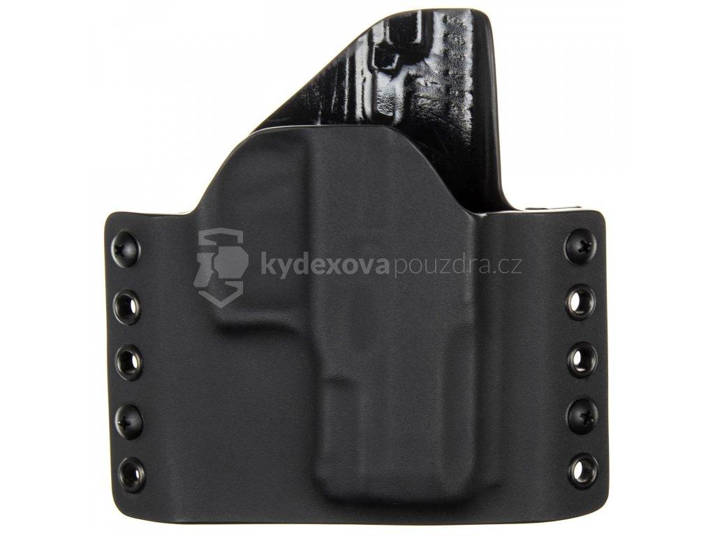 OWB - Taurus PT 24/7 G2 Compact - vnější kydexové pouzdro - poloviční sweatguard - černá/černá