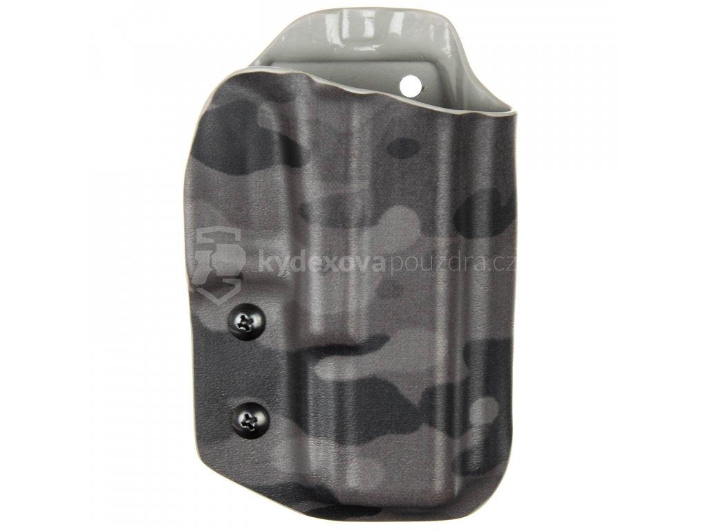 TAC - Glock 19/23/32 - Glock 19X/45 - taktické kydexové pouzdro - multicam black