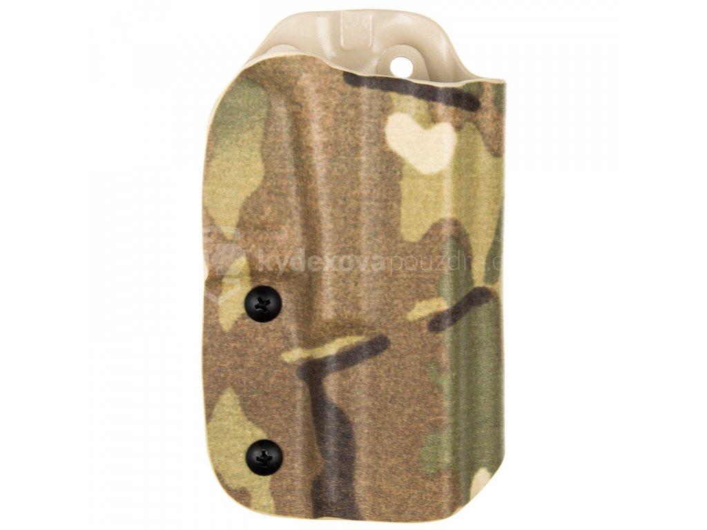 TAC - Glock 19/23/32 - Glock 19X/45 - taktické kydexové pouzdro - multicam