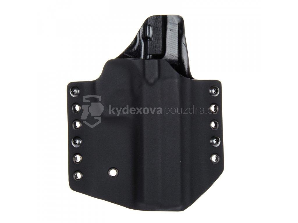 OWB - CZ 97 B - vnější kydexové pouzdro - poloviční sweatguard - černá