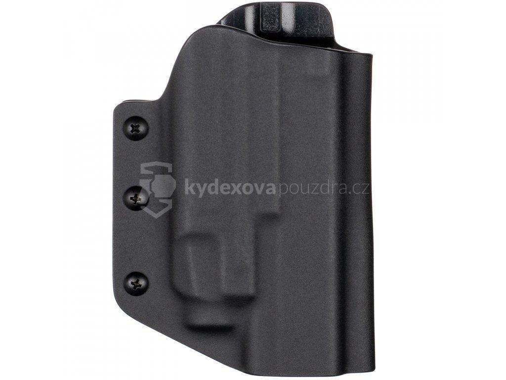 TAC - Glock 19/23/32 - Glock 19X/45 + Streamlight TLR-7 - taktické kydexové pouzdro - černá