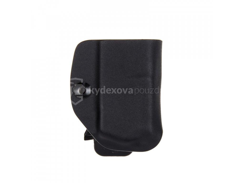 IWB - Glock 17/19/19X/45 - vnitřní kydexové pouzdro na 1 zásobník - bez sweatguardu - černá
