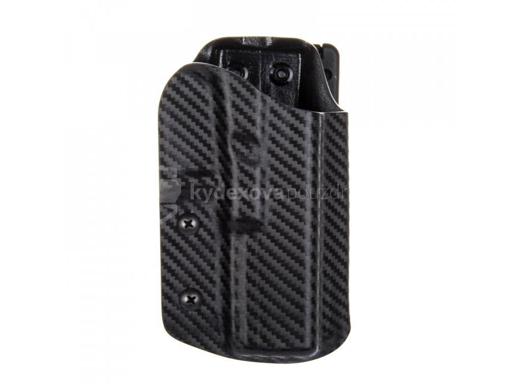 IPSC - Glock 17/22/31 - sportovní kydexové pouzdro - carbon