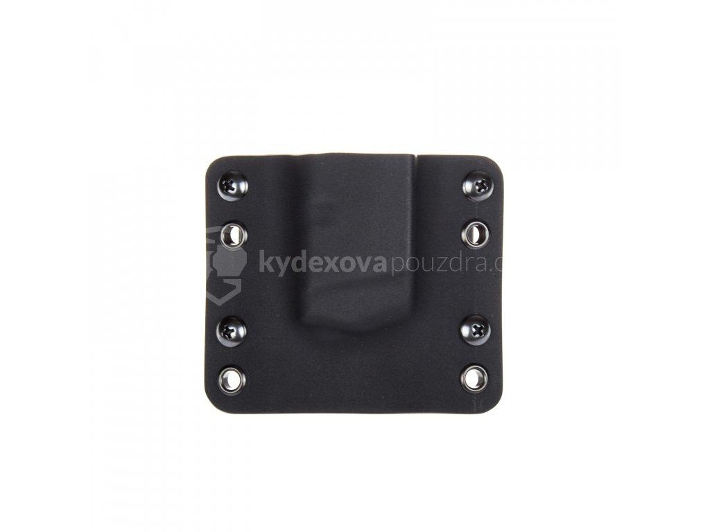 Kydexové pouzdro na zásobník Glock 19/23/32 bez sweatguardu - vnější, černá