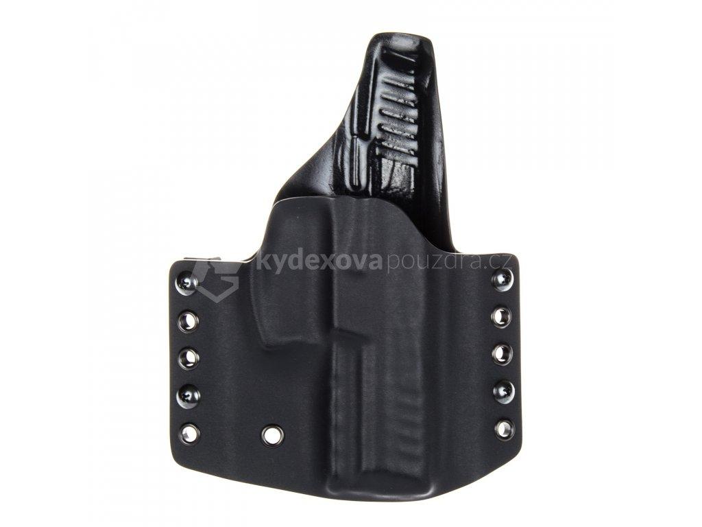 OWB - Heckler & Koch SFP9 - vnější kydexové pouzdro - plný sweatguard - černá/černá