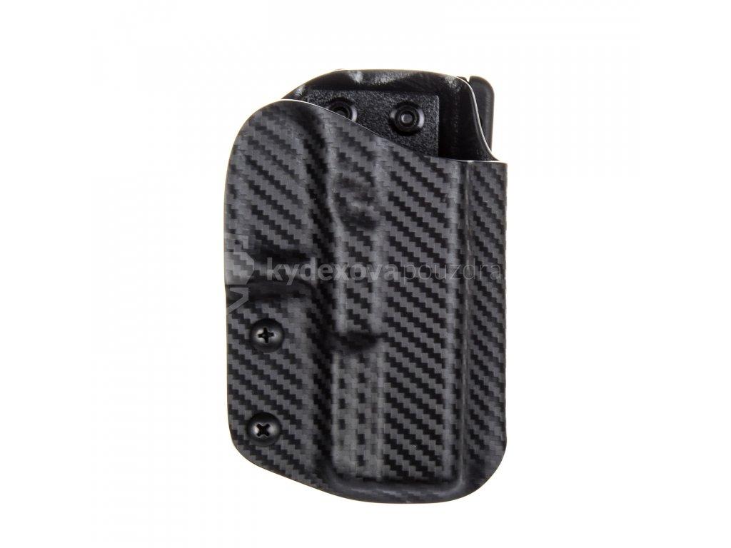IPSC - Glock 19/23/32 - Glock 19X/45 - sportovní kydexové pouzdro - carbon