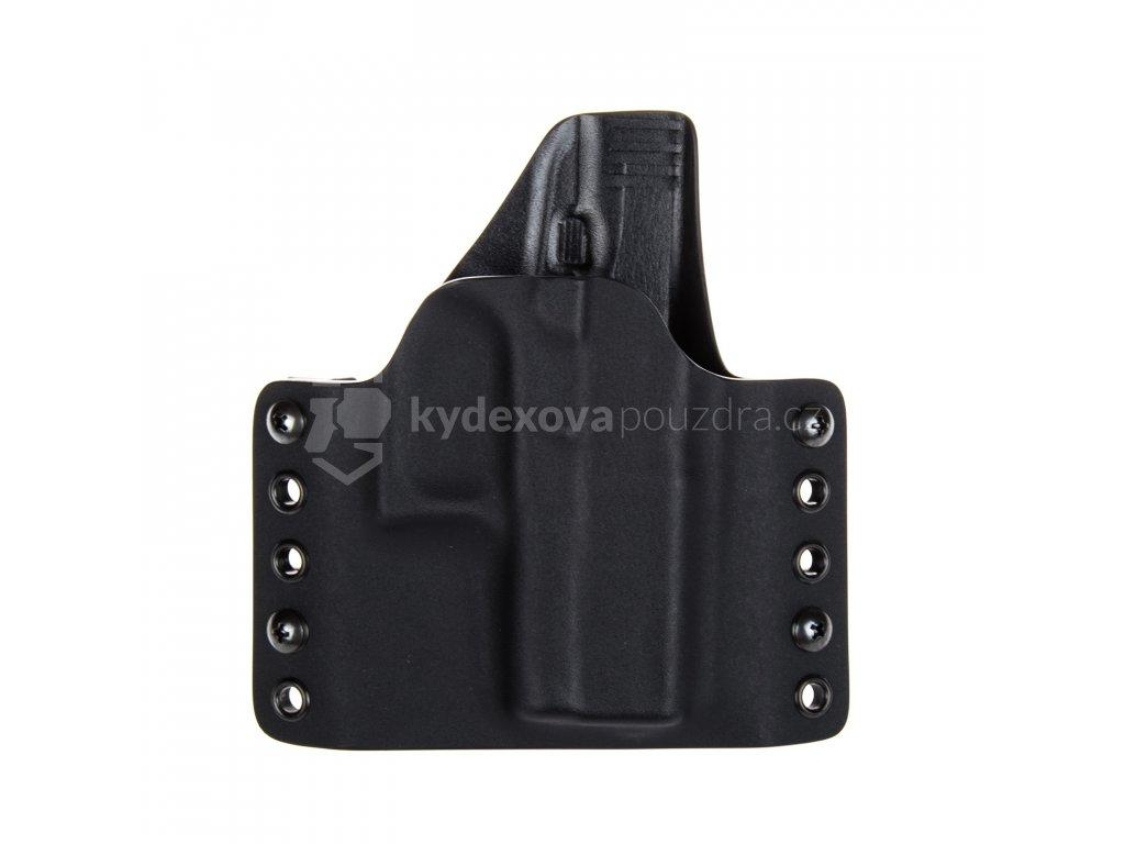 Kydexové pouzdro na zbraň Glock 43 - vnější, černá