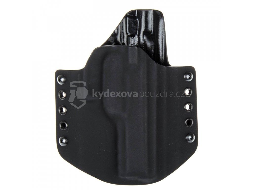 OWB - CZ 75 SP-01 Phantom - vnější kydexové pouzdro - poloviční sweatguard - černá/černá