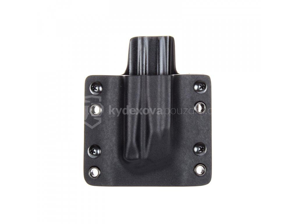 OWB - Heckler & Koch P30/SFP9 - vnější kydexové pouzdro na 1 zásobník - plný sweatguard - černá/černá