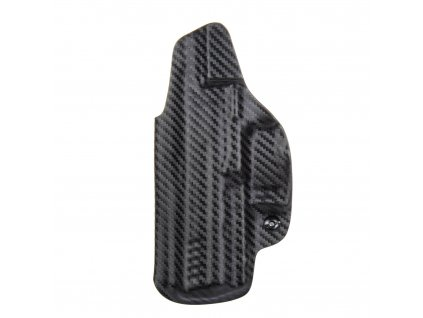 Kydexové pouzdro na zbraň Heckler & Koch SFP9 (VP9) se sweatguardem a nastavením svoru - vnitřní, carbon