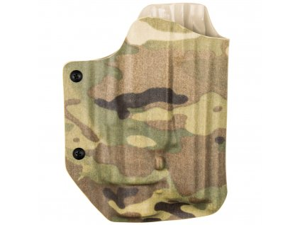 Kydexové pouzdro na zbraň CZ 75 SP-01 Phantom se svítilnou Streamlight M6X a Molle - vnější, multicam